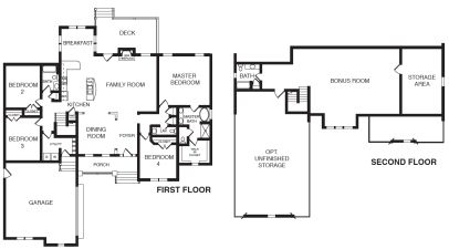 Richmond floor plan