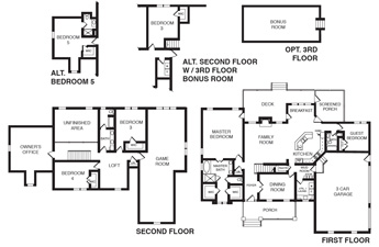 charleston floor plan