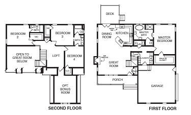 Lexington Floor Plan - NK Homes