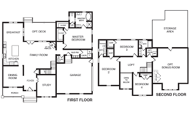 York Floor Plan - NK Homes