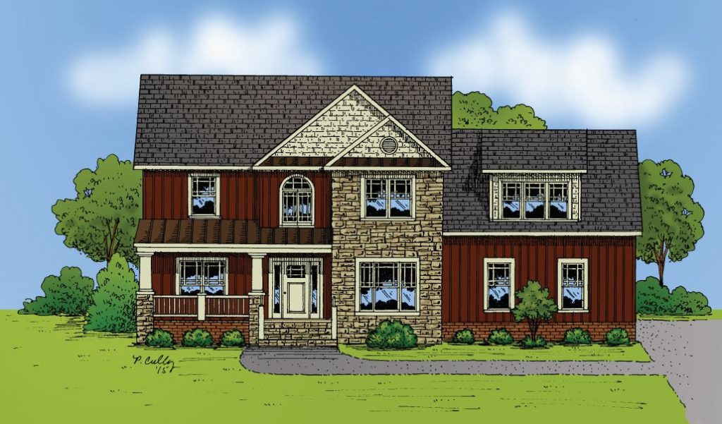 Featured Floor Plan: The Yorktown at Rochambeau Estates