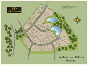 Rochambeau Estates map