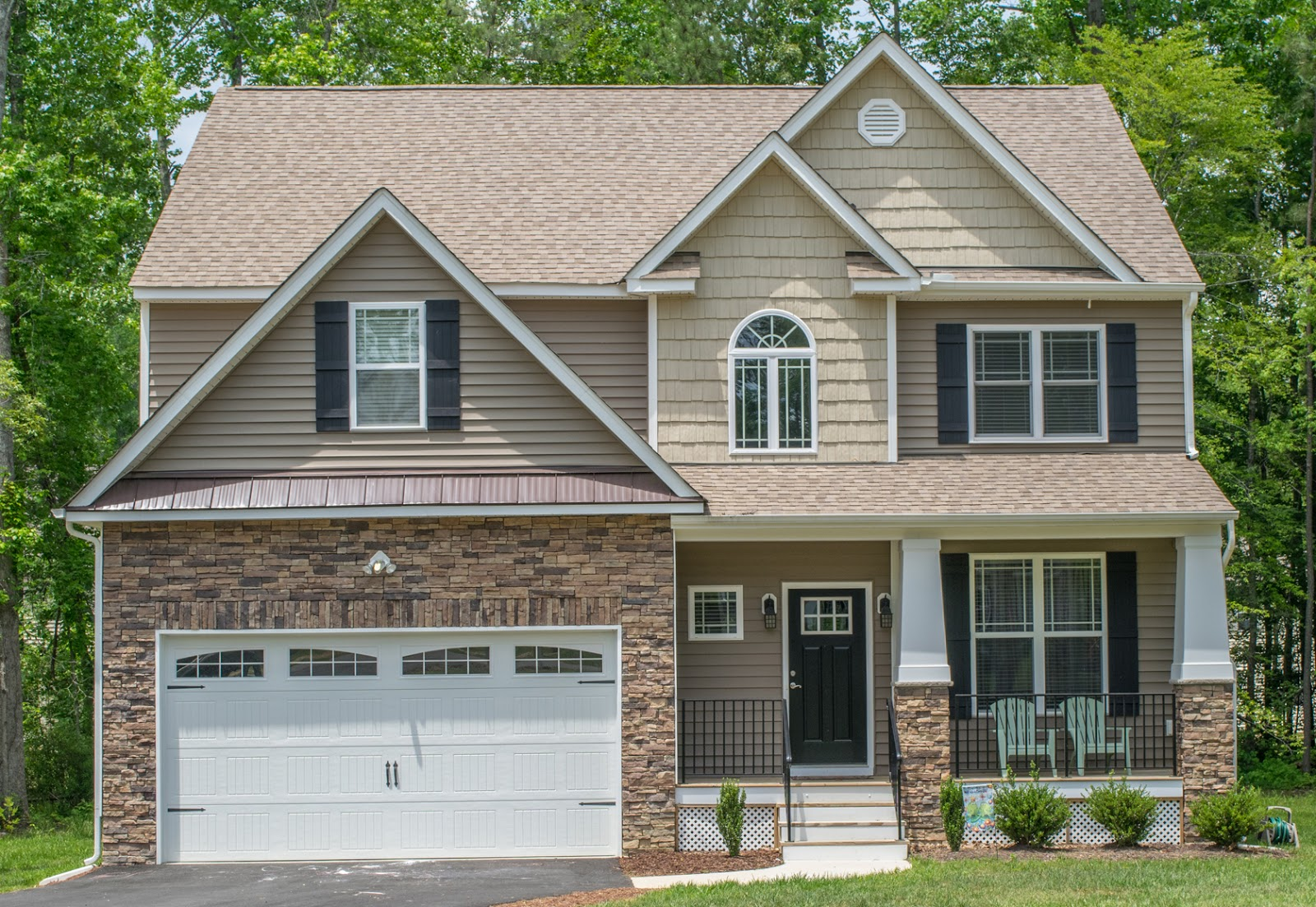 Brookwood style home