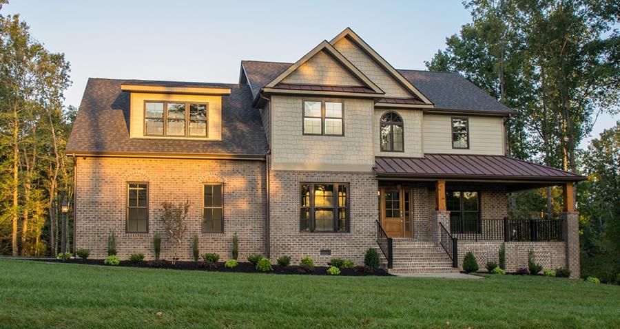 Yorktown style home