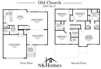Old Church floor plan